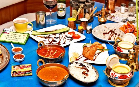 Jakékoli indické a kašmírské speciality z menu