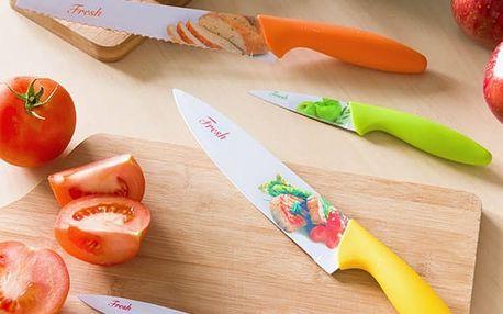 Keramické Nože Fresh Bravissima Kitchen 4 kusy