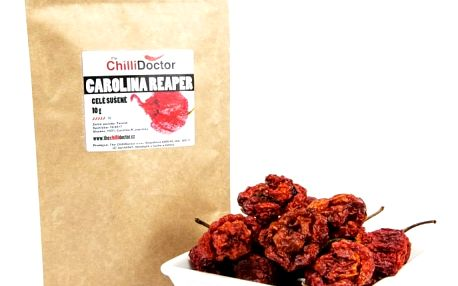 The chilli Doctor Carolina Reaper celé sušené 10g