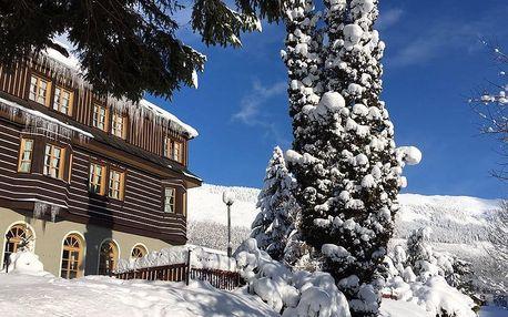 Zima či jaro ve Špindlu s neomezeným wellness