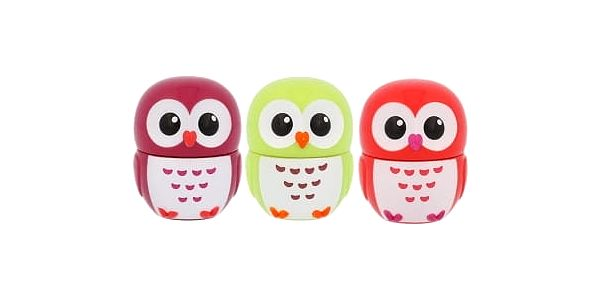 2K Lip Gloss 2,5 g dárková kazeta dárková sada pro ženy lesk na rty Cherry 2,5 g + lesk na rty Apple 2,5 g + lesk na rty Strawberry 2,5 g