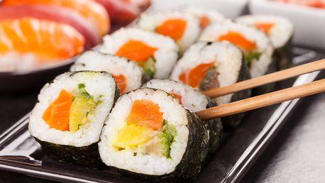 Bohaté sushi sety, 26 až 56 kousků