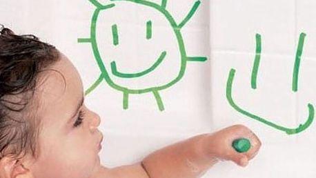Dětské pastelky do vany