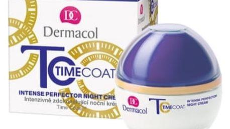 Dermacol Time Coat 50 ml noční pleťový krém proti vráskám pro ženy