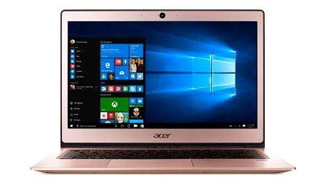 Acer Swift 1 (SF113-31-P2XQ) N4200, 13 FHD, 4GB, 64eMMC,čt.pk, Intel HD, HDcam, 3čl, W10, růžová