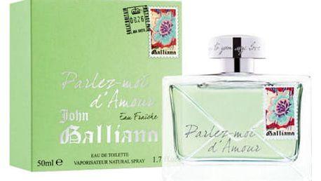 John Galliano Parlez-Moi d´Amour Eau Fraiche 80 ml EDT Tester W