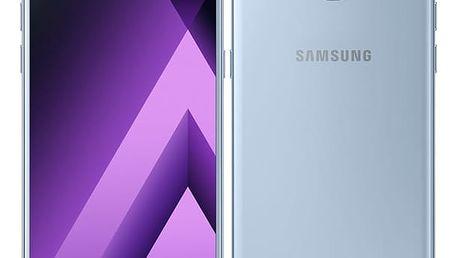 Mobilní telefon Samsung A5 (2017) (SM-A520FZBAETL) modrý Software F-Secure SAFE, 3 zařízení / 6 měsíců v hodnotě 979 Kč + DOPRAVA ZDARMA