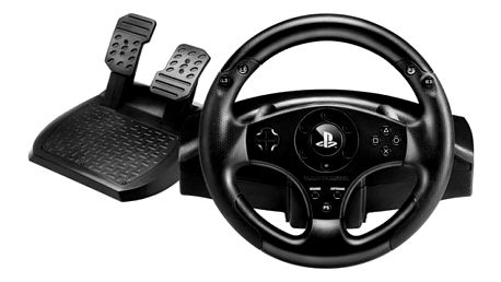 Volant Thrustmaster T80 pro PS4, PS3 + pedály černý (4160598)