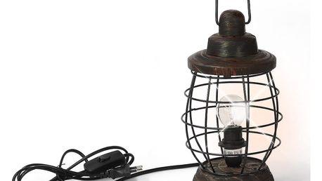 Stolní lampa Novita Rustic Lanterna