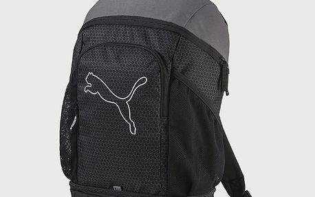 Batoh Puma Echo Backpack Black-Quiet Shad Černá