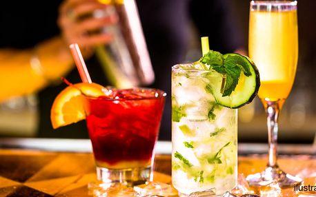Míchané nápoje v americkém stylu pro 2-4 osoby