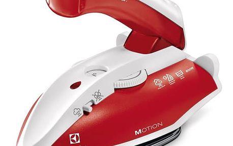 Žehlička Electrolux EDBT800 bílá/červená