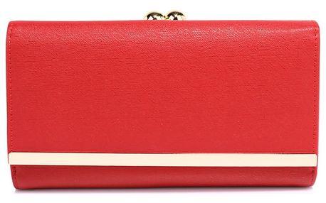 Dámská červená peněženka Libby 1050a