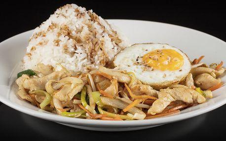 Vůně Asie: kuře teriyaki, curry či polévka ramen