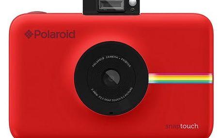 Digitální fotoaparát Polaroid SNAP Instant Digital červený (POLSP01R)