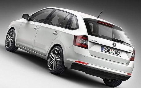 Půjčení vozu Škoda Rapid spaceback na 3 dny za cenu 2