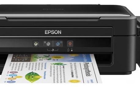 Tiskárna multifunkční Epson L382 (C11CF43402) černá Software F-Secure SAFE, 3 zařízení / 6 měsíců v hodnotě 979 Kč + DOPRAVA ZDARMA
