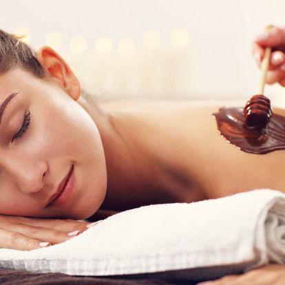 V hlavní roli čokoláda: relaxační masáž zad a šíje