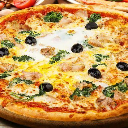 2x pizza dle vlastního výběru v hotelu Dukla