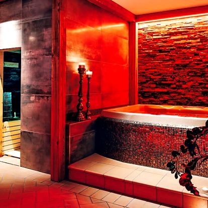 Prosecco a relax pro 2 v luxusním wellness & spa