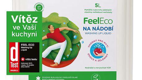 FEEL ECO Prostředek na nádobí, ovoce a zeleninu 5l