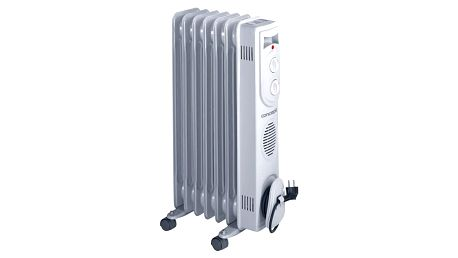 Olejový radiátor Concept RO-3107 šedý