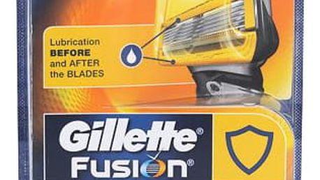 Gillette Fusion Proshield 4 ks náhradní břit M