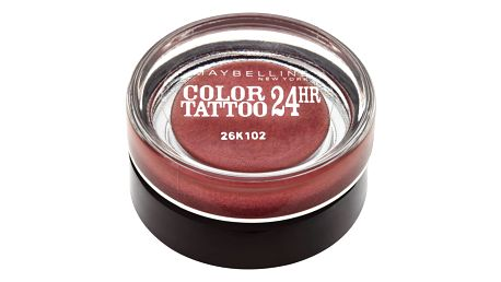 Maybelline Color Tattoo 24 hr oční stíny Metallic Pomegranate 70, 4 g