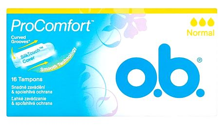 O.B. ProComfort normal tampóny 16 ks