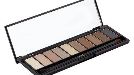 L'Oréal Paris Nude paleta očních stínů Beige 02