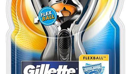 Gillette Fusion ProGlide Flexball + náhradní hlavice 2 ks