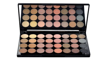 Makeup Revolution London Ultra Eyeshadows Palette Flawless Matte 16 g oční stín W