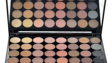 Makeup Revolution London Ultra Eyeshadows Palette Flawless Matte 16 g oční stín W