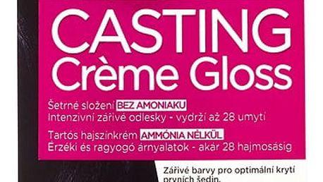 L'Oréal Paris Casting Crème Gloss Modročerná 210