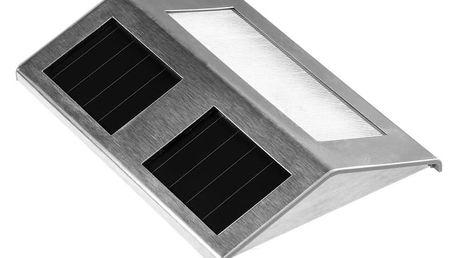 Solární LED zahradní svítidlo z nerezové oceli