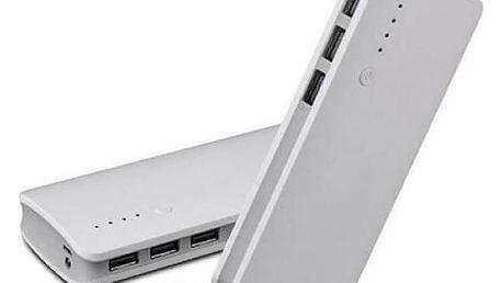 Nabíječka Power bank s LED světlem. MP3/MP4 přehrávače, GPS navigace, iPhony a iPody.