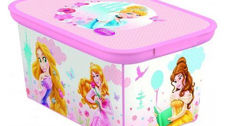 CURVER DECO PRINCESS 32458 Dětský úložný box - S
