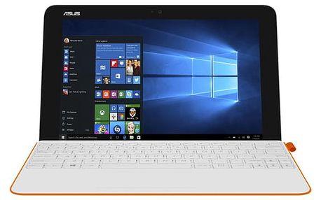 Dotykový tablet Asus Transformer Mini T102HA + stylus (T102HA-GR042T) bílý/oranžový Software F-Secure SAFE, 3 zařízení / 6 měsíců v hodnotě 979 Kč + DOPRAVA ZDARMA