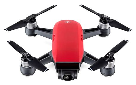 Dron DJI Spark Fly More Combo (DJIS0203C) červený + DOPRAVA ZDARMA