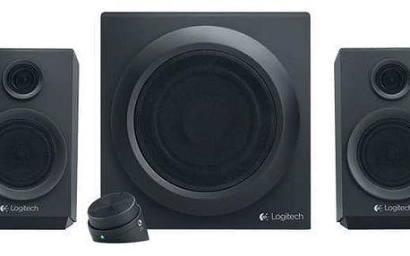 Reproduktory Logitech Z333 2.1 černý (980-001202)