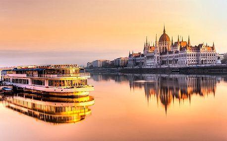 3–6denní pobyt pro 2 se snídaněmi v Atlas City Hotelu Budapest*** v Budapešti