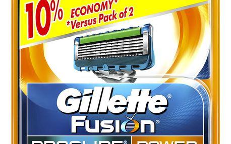 GILLETTE Náhradní hlavice Fusion Proglide Power 4 ks