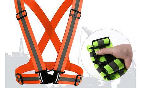 Reflexní bezpečnostní pás na tělo