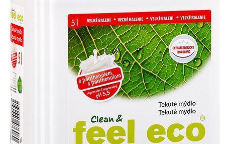 Feel Eco tekuté mýdlo Panthenol 5l