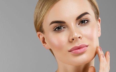 Kosmetické ošetření obličeje a dekoltu s liposomy