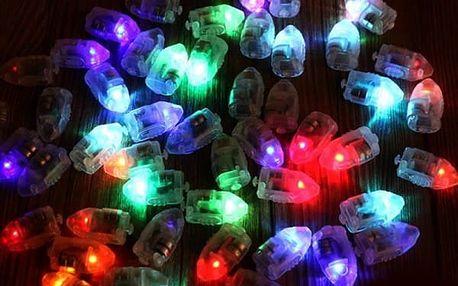 Dekorativní mini LED světýlka (12 kusů) - různé barvy