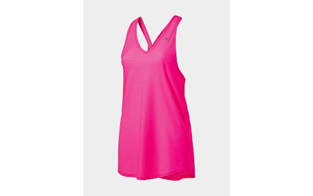 Tílko Puma Mesh It Up Layer Tank Růžová