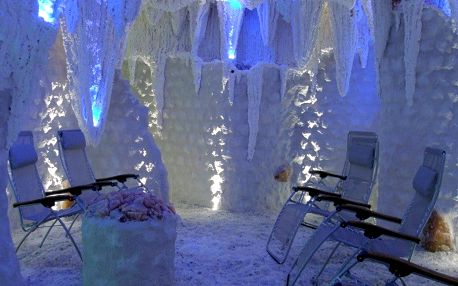 Solná terapie: vstupy do solné jeskyně Beruška