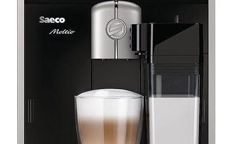 Espresso Saeco Moltio HD8769/09 černé + dárek 2x Káva zrnková Simon Lévelt BIO Uganda 250 g v hodnotě 159 Kč + DOPRAVA ZDARMA