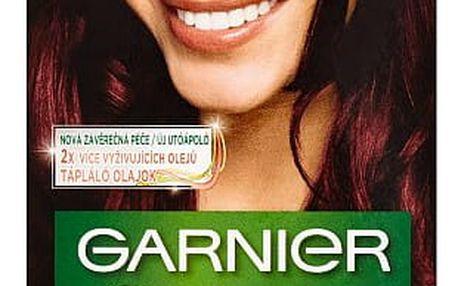 Garnier Color Naturals Crème dlouhotrvající vyživující barva rubínově červená 460